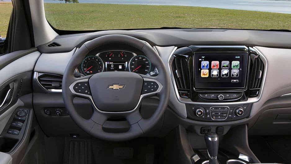 Technology Features of the New Chevrolet Traverse at Garber in Jacksonville, FL