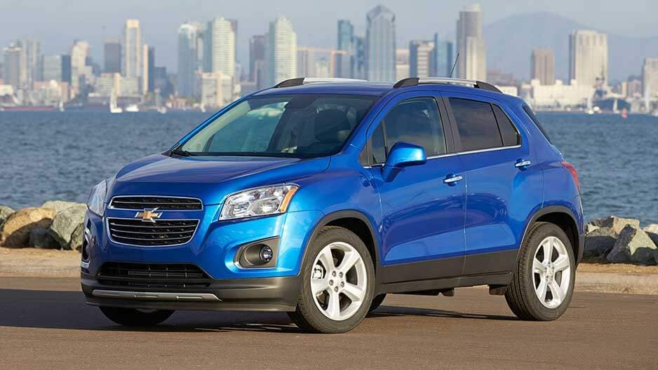 Exterior Features of the New Chevrolet Trax at Garber in Orange-Park, FL
