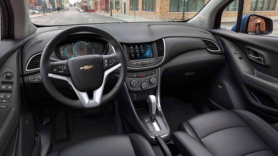 Interior Features of the New Chevrolet Trax at Garber in Orange-Park, FL