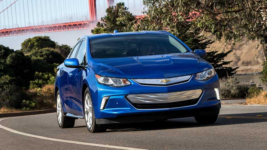 Exterior Features of the New Chevrolet Volt at Garber in Orange-Park, FL