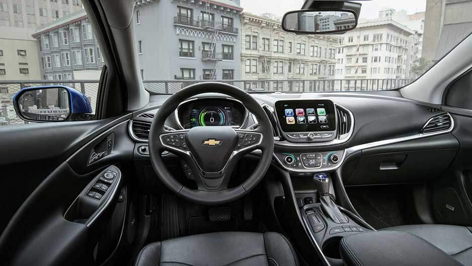 Interior Features of the New Chevrolet Volt at Garber in Orange-Park, FL