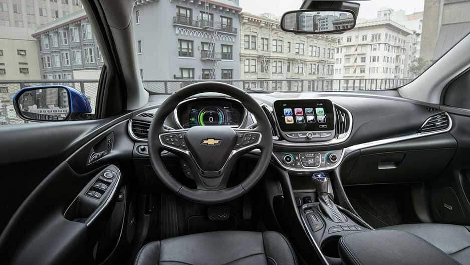 Interior Features of the New Chevrolet Volt at Garber in Orange-Park, FL