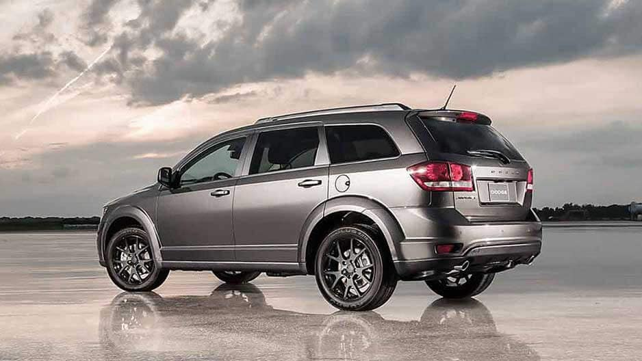 Exterior Features of the New Dodge Journey at Garber in Orange-Park, FL