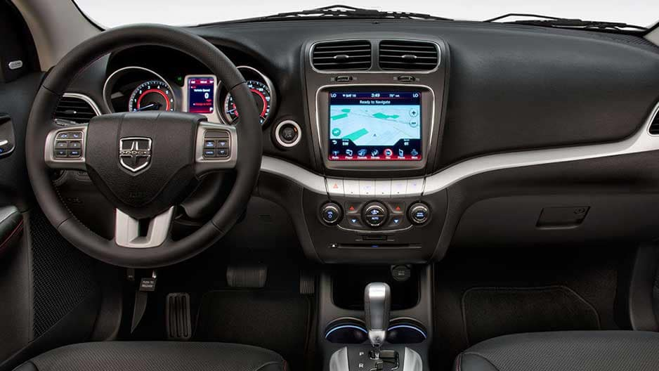 Technology Features of the New Dodge Journey at Garber in Jacksonville, FL