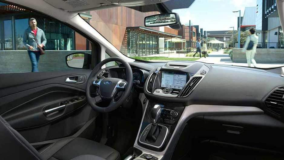 Interior Features of the New Ford C-Max at Garber in Orange-Park, FL