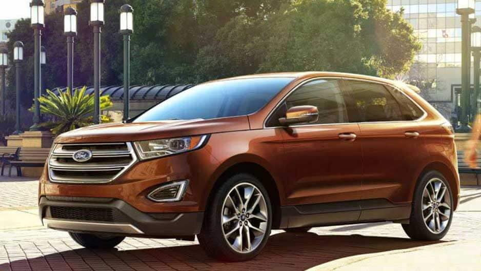 Exterior Features of the New Ford Edge at Garber in Orange-Park, FL