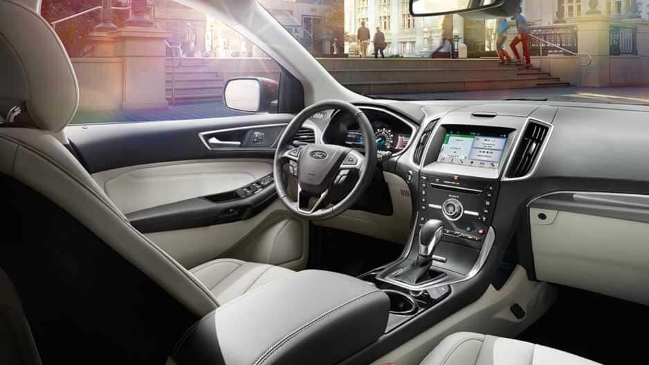 Interior Features of the New Ford Edge at Garber in Orange-Park, FL