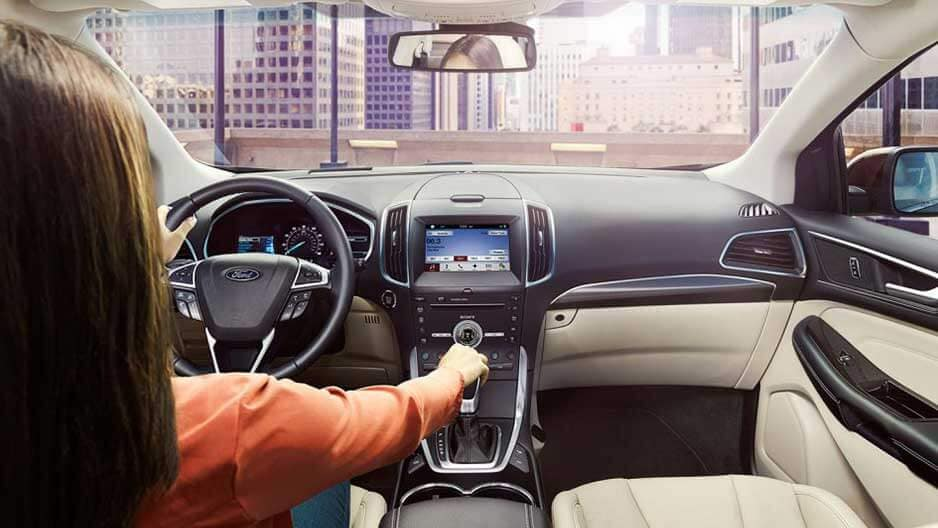Safety Features of the New Ford Edge at Garber in Jacksonville, FL