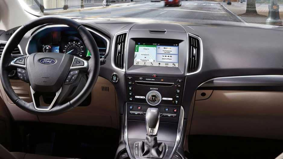 Technology Features of the New Ford Edge at Garber in Jacksonville, FL