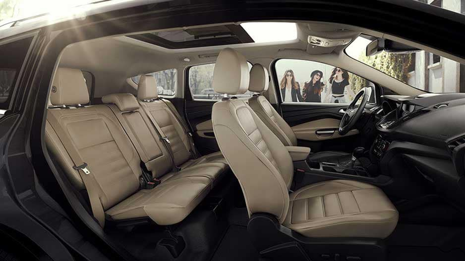 Interior Features of the New Ford Escape at Garber in Orange-Park, FL