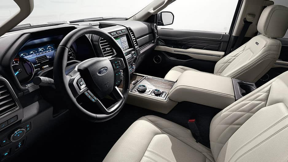 Interior Features of the New Ford Expedition at Garber in Orange-Park, FL