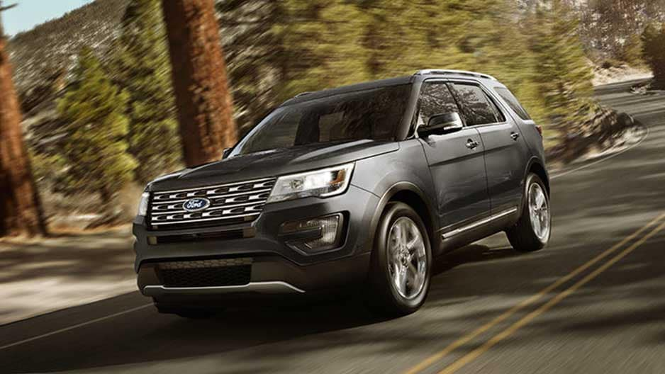 Exterior Features of the New Ford Explorer at Garber in Orange-Park, FL