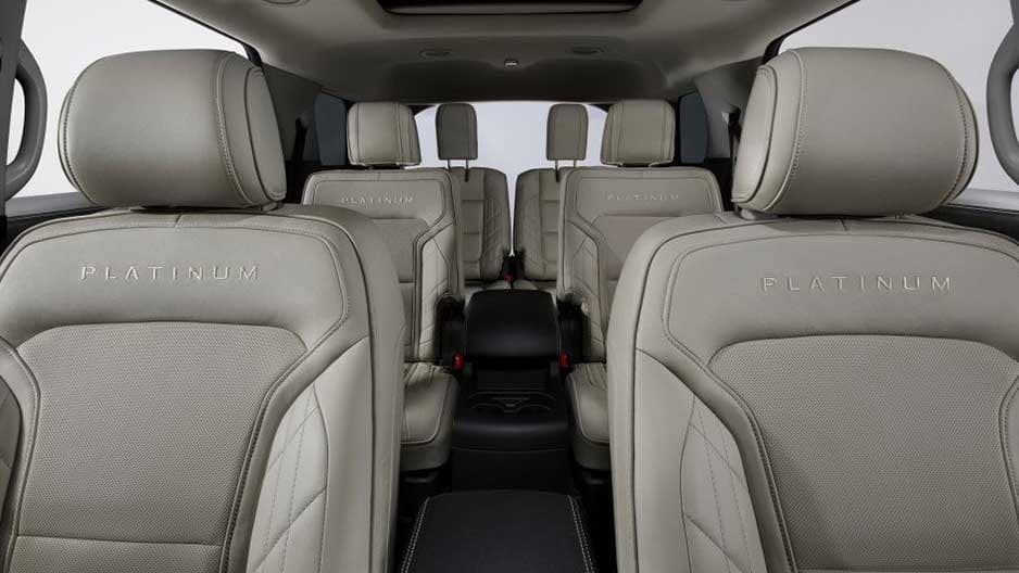 Interior Features of the New Ford Explorer at Garber in Orange-Park, FL