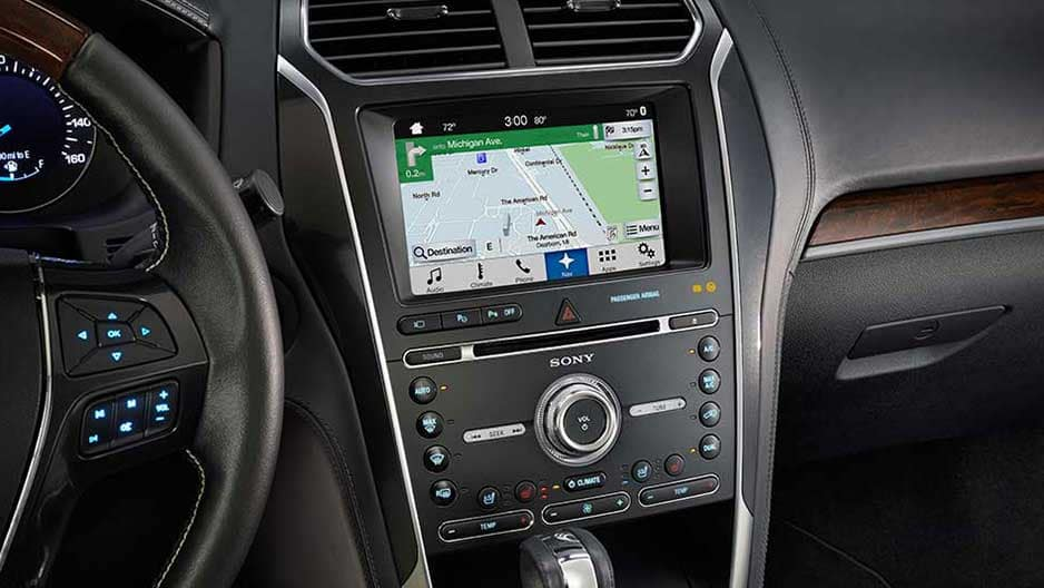 Technology Features of the New Ford Explorer at Garber in Jacksonville, FL