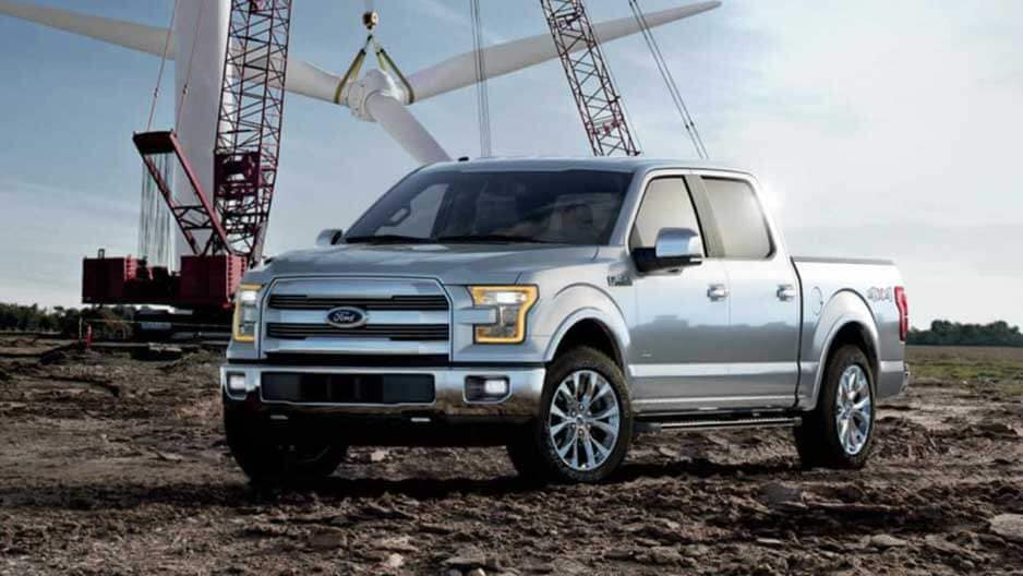 Exterior Features of the New Ford F-150 at Garber in Orange-Park, FL