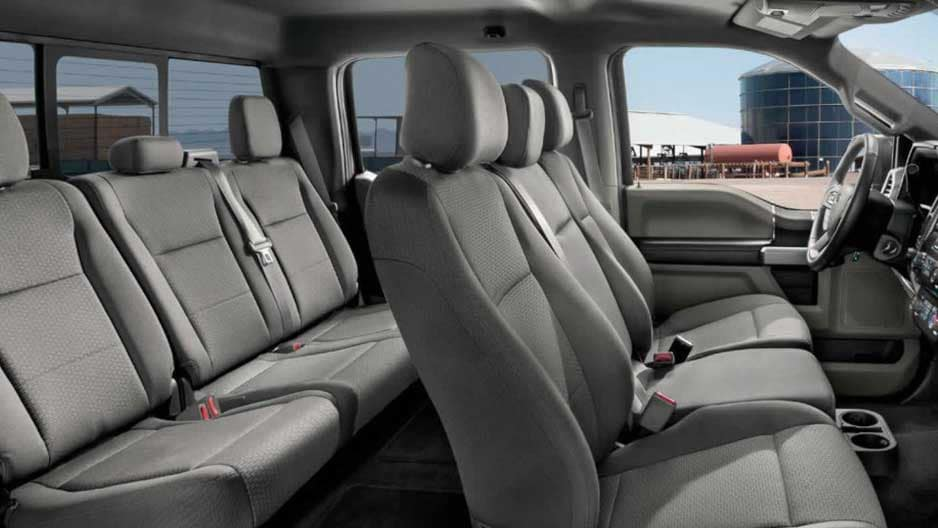 Interior Features of the New Ford F-150 at Garber in Orange-Park, FL
