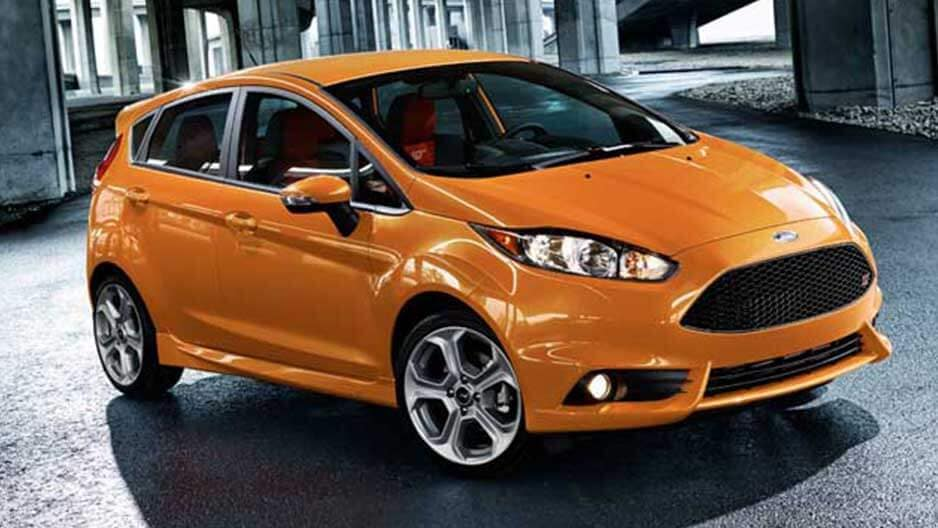 Exterior Features of the New Ford Fiesta at Garber in Orange-Park, FL