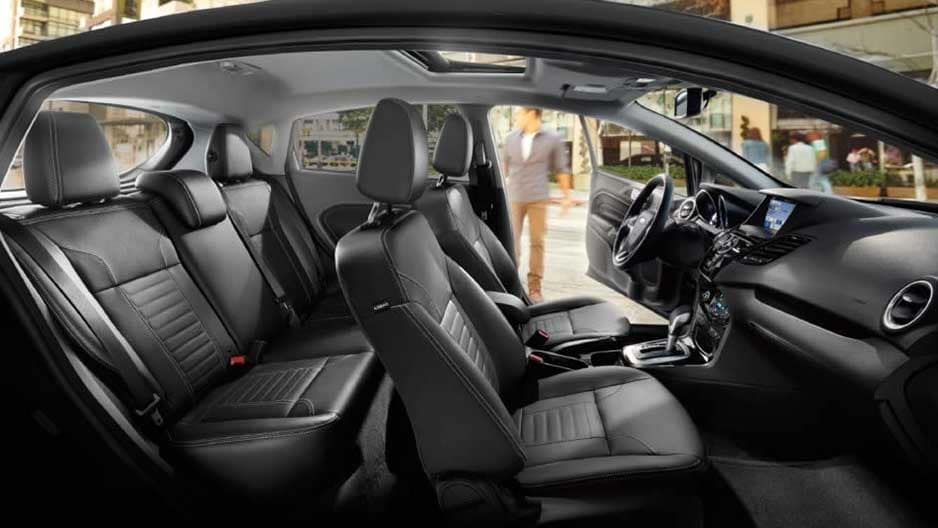 Interior Features of the New Ford Fiesta at Garber in Orange-Park, FL