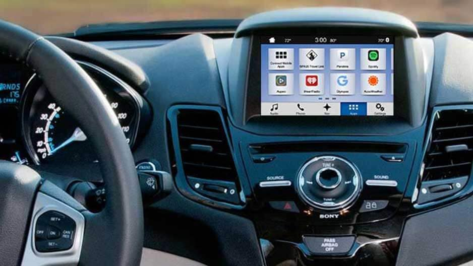Technology Features of the New Ford Fiesta at Garber in Jacksonville, FL