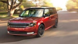 Exterior Features of the New Ford Flex at Garber in Orange-Park, FL