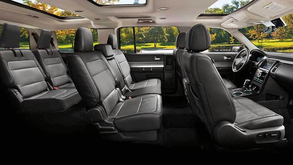 Interior Features of the New Ford Flex at Garber in Orange-Park, FL
