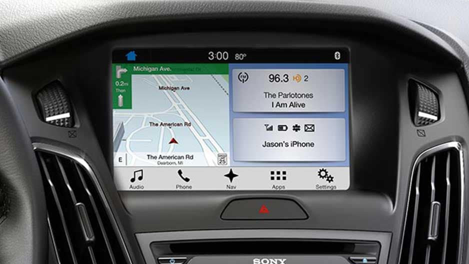 Technology Features of the New Ford Focus at Garber in Jacksonville, FL