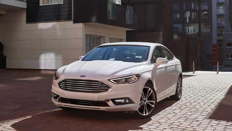 Exterior Features of the New Ford Fusion at Garber in Orange-Park, FL