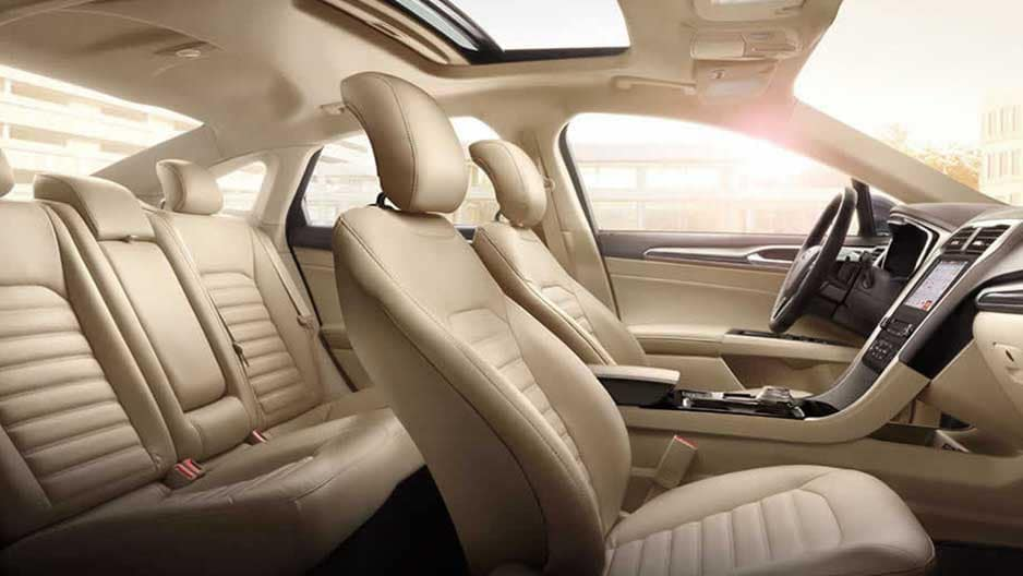Interior Features of the New Ford Fusion at Garber in Orange-Park, FL