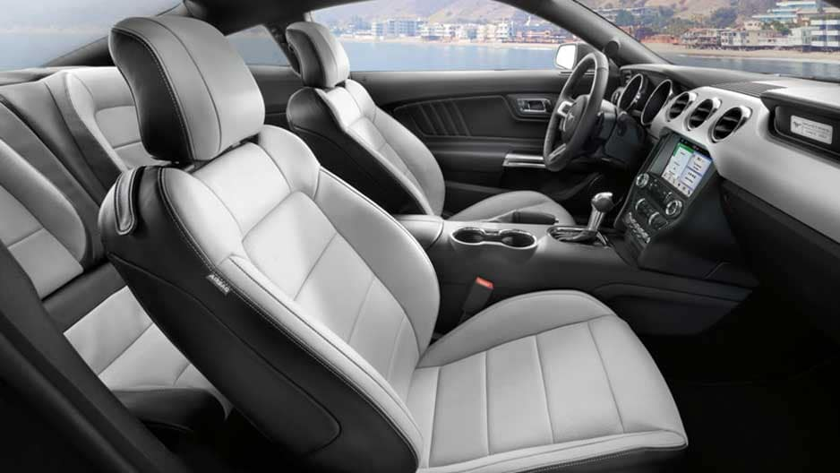 Interior Features of the New Ford Mustang at Garber in Orange-Park, FL