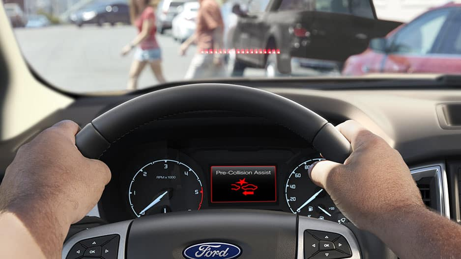 Safety Features of the New Ford Ranger at Garber in Jacksonville, FL