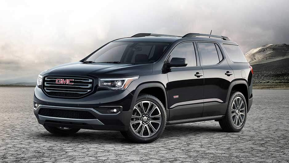 Exterior Features of the New GMC Acadia at Garber in Orange-Park, FL