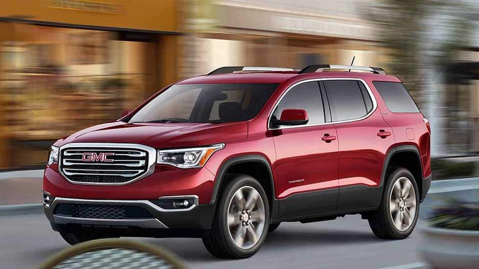 Performance Features of the New GMC Acadia at Garber in Jacksonville, FL