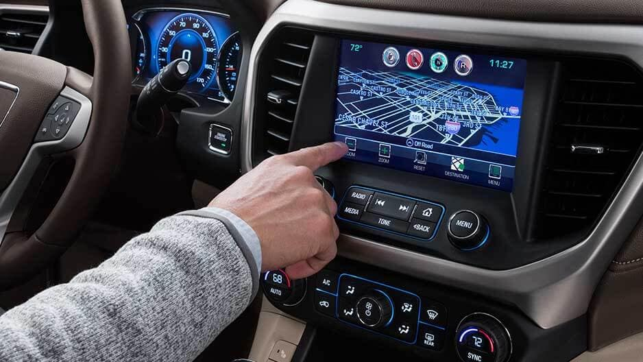 Safety Features of the New GMC Acadia at Garber in Jacksonville, FL