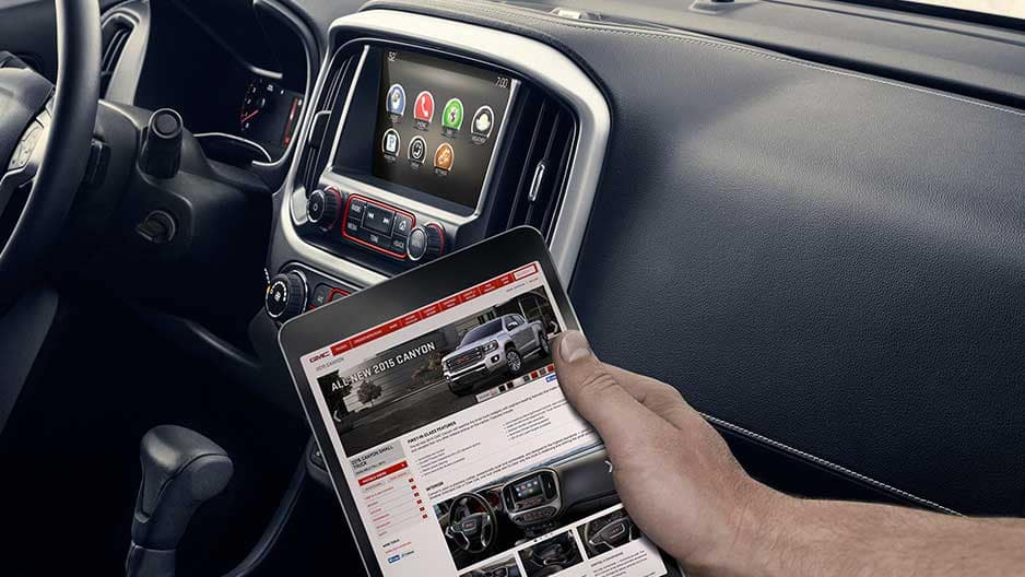Technology Features of the New GMC Canyon at Garber in Jacksonville, FL