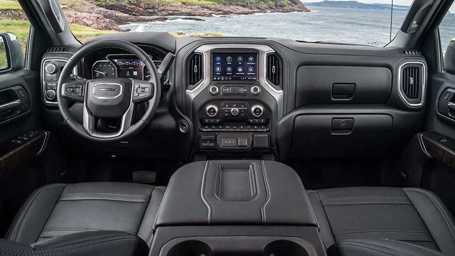 Interior Features of the New GMC Sierra 1500 at Garber in Orange Park, FL