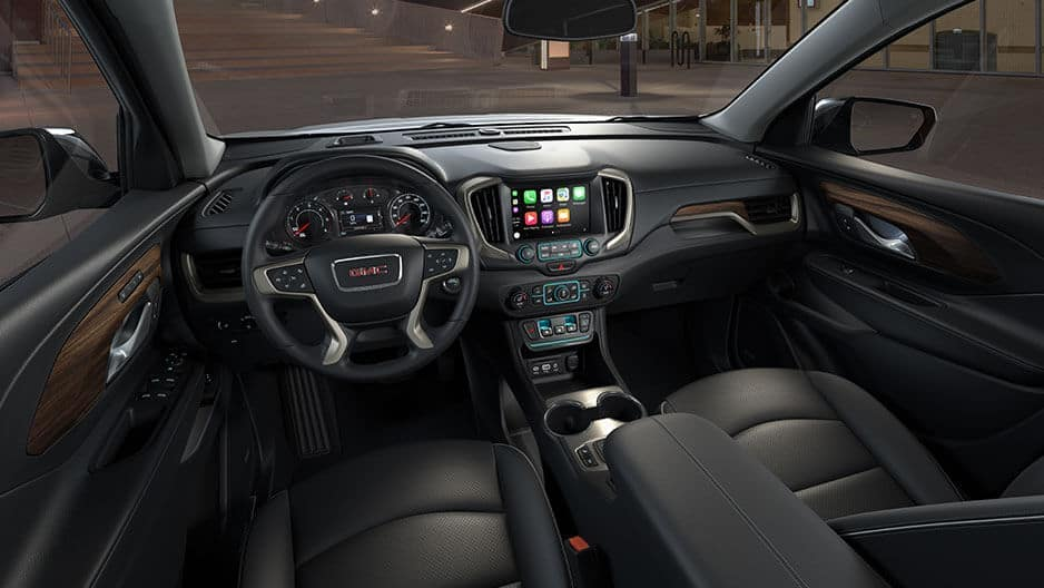 Interior Features of the New GMC Terrain at Garber in Orange-Park, FL
