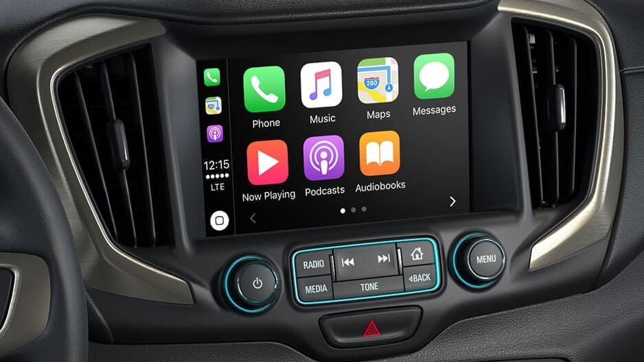 Technology Features of the New GMC Terrain at Garber in Jacksonville, FL