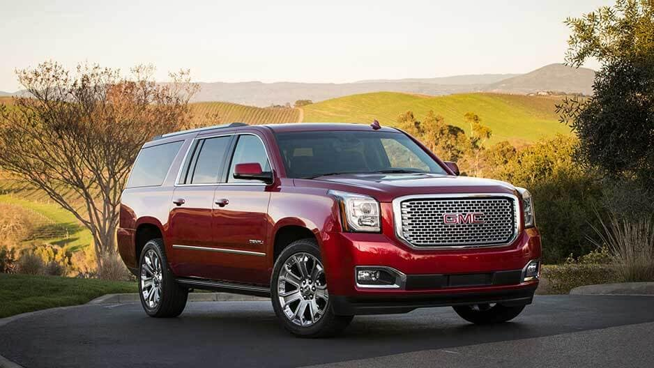 Exterior Features of the New GMC Yukon at Garber in Orange-Park, FL