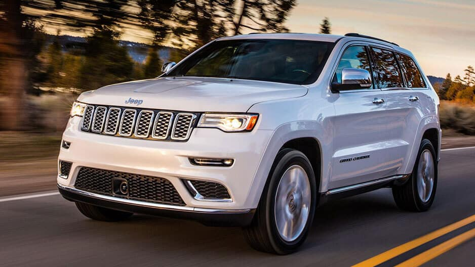 Exterior Features of the New Jeep Grand Cherokee at Garber in Orange-Park, FL