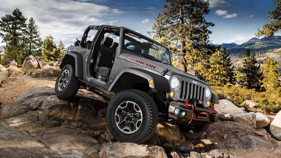 Exterior Features of the New Jeep Wrangler at Garber in Orange-Park, FL