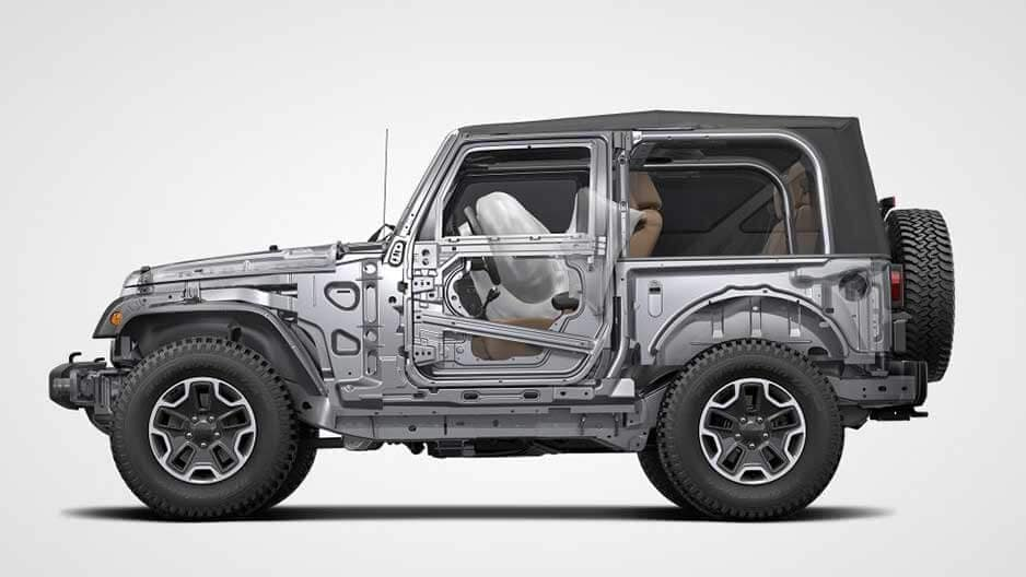 Safety Features of the New Jeep Wrangler at Garber in Jacksonville, FL