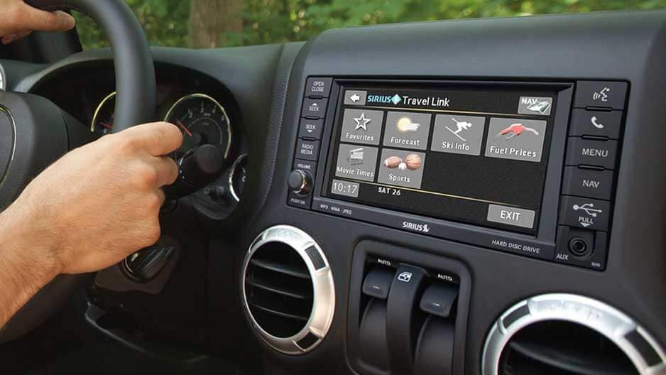 Technology Features of the New Jeep Wrangler at Garber in Jacksonville, FL