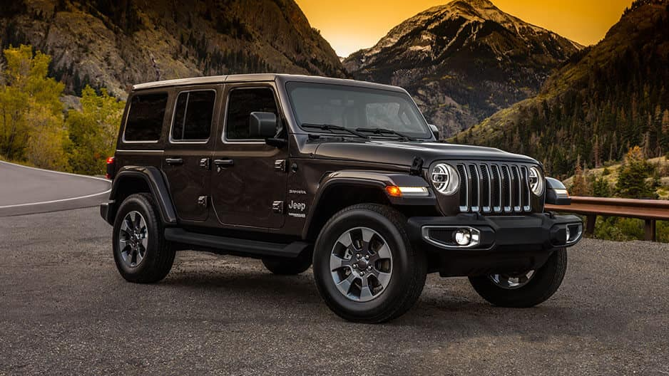 Exterior Features of the New Jeep Wrangler JL at Garber in Orange-Park, FL