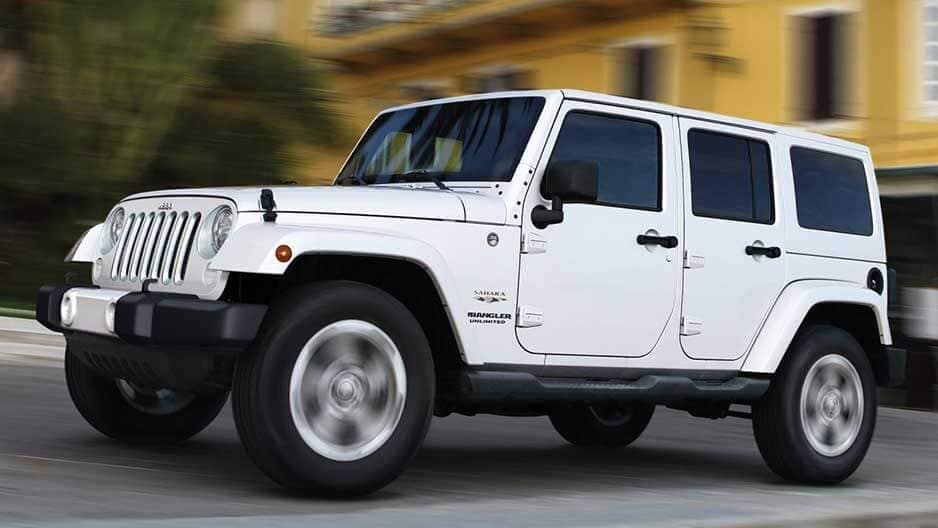 Exterior Features of the New Jeep Wrangler Unlimited at Garber in Orange-Park, FL