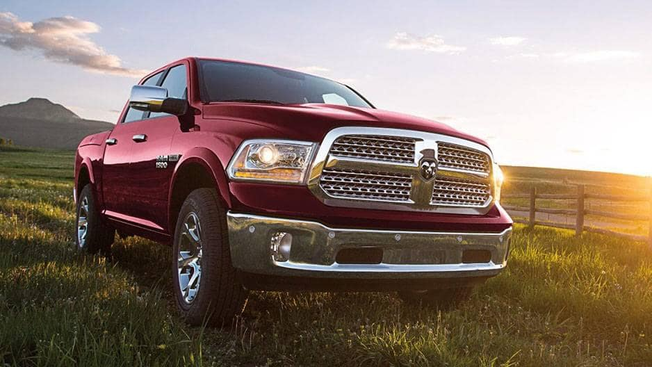 Exterior Features of the New RAM 1500 at Garber in Orange-Park, FL