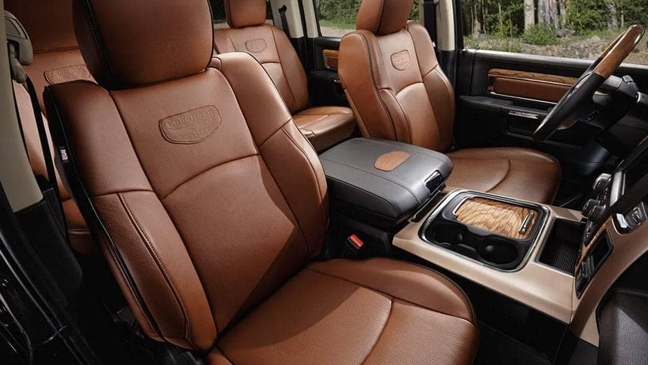 Interior Features of the New RAM 1500 at Garber in Orange-Park, FL