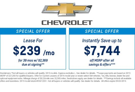 New Chevrolet Equinox® Inventory, Reviews & Specials in Jacksonville | Garber Automall