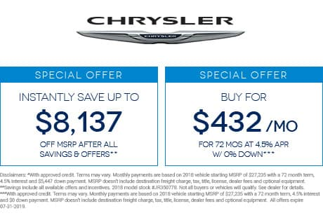 New Chrysler Pacifica® Inventory, Reviews & Specials in Jacksonville