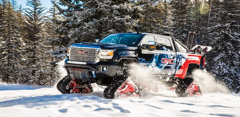 The Gmc Sierra All Mountain Concept Shows Off Garber