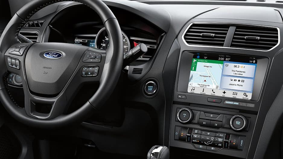 Safety Features of the New Ford Explorer at Garber in Jacksonville, FL